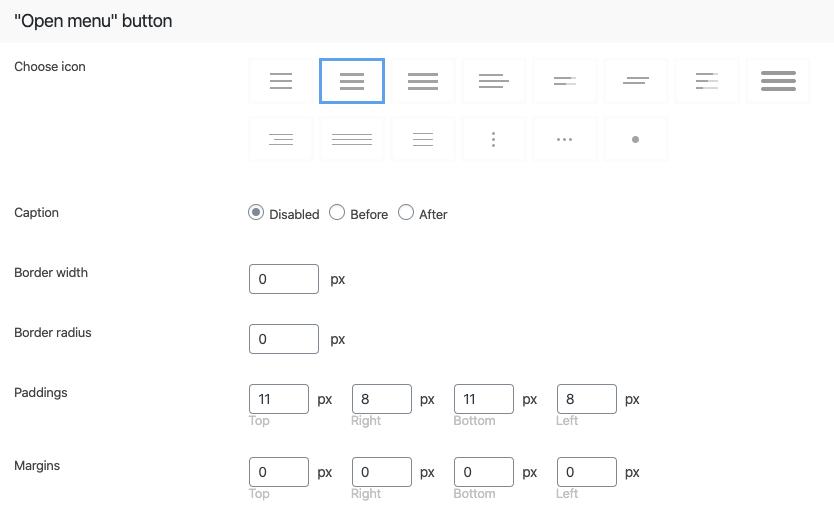 "Fig. 9.3. ""Open"" button design."