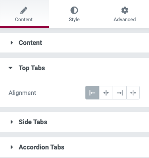 Fig. 4.1. Top tabs alignment.