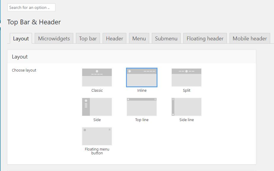 Top Bar & Header | The7 | Multipurpose WordPress Theme