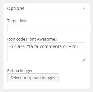 Fig. 1.2. Font awsome icons for Benefits.