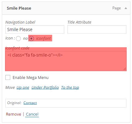 Fig. 1.1. Add icon to menu.