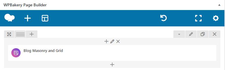 Fig. 3.1. Blog Masonry & Grid shortcode.