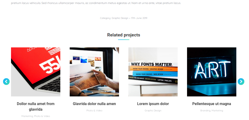 Fig. 3. Related projects.