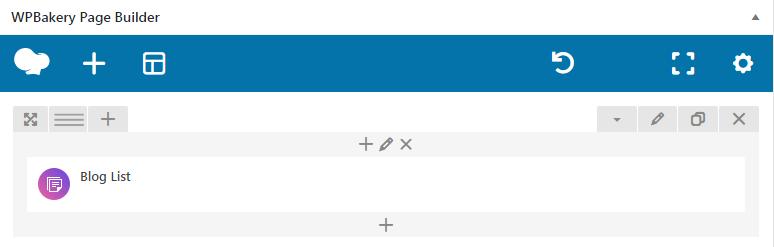fig. 3.1. Blog list shortcode.