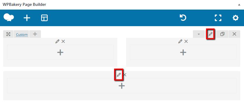 Fig. 3. Edit row/column button.