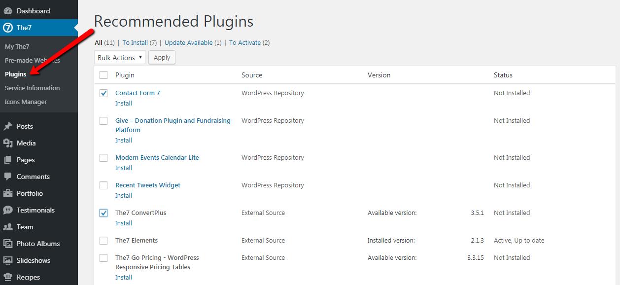 Fig.1. Install plugins.