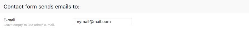 Fig. 3. Target email address.